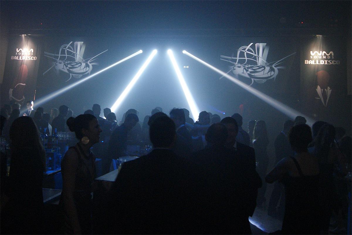 Licht- & Videoshow | BALLDISCO List-Halle