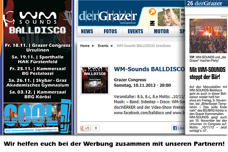 WM-Sounds BALLDISCO | Werbung