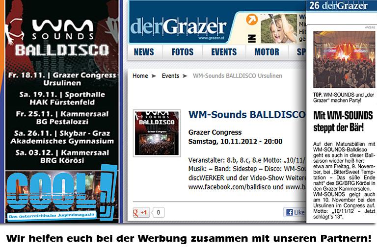 WM-Sounds BALLDISCO | Werbung