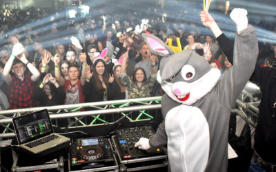 Osterhasenparty 3.0 mit Deejay Hase