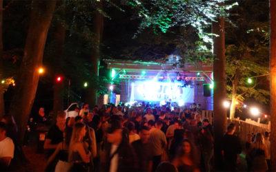 Nach dem Regen war Party beim Waldfest angesagt!