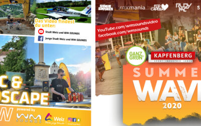 Videoproduktionen 2020 | MUSIC & LANDSCAPE show & SUMMER WAVE Kapfenberg